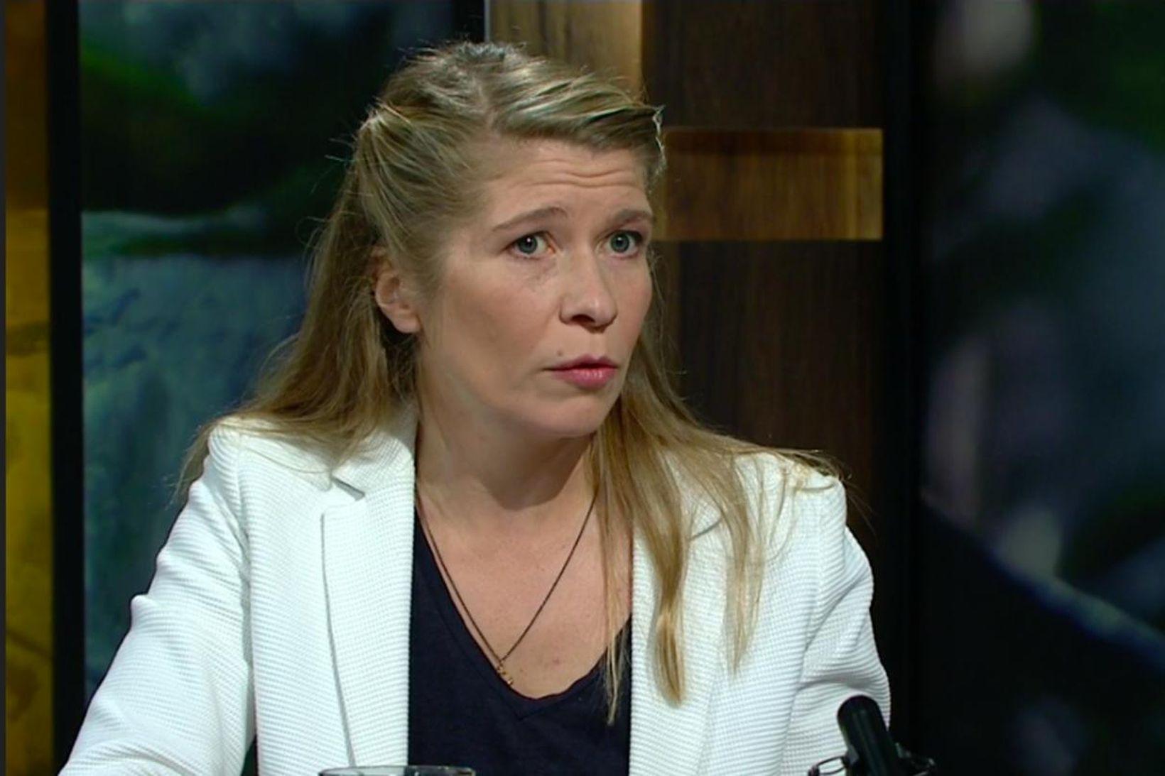 Katrín Oddsdóttir, formaður Stjórnarskrárfélagsins var gestur Silfursins á RÚV í …