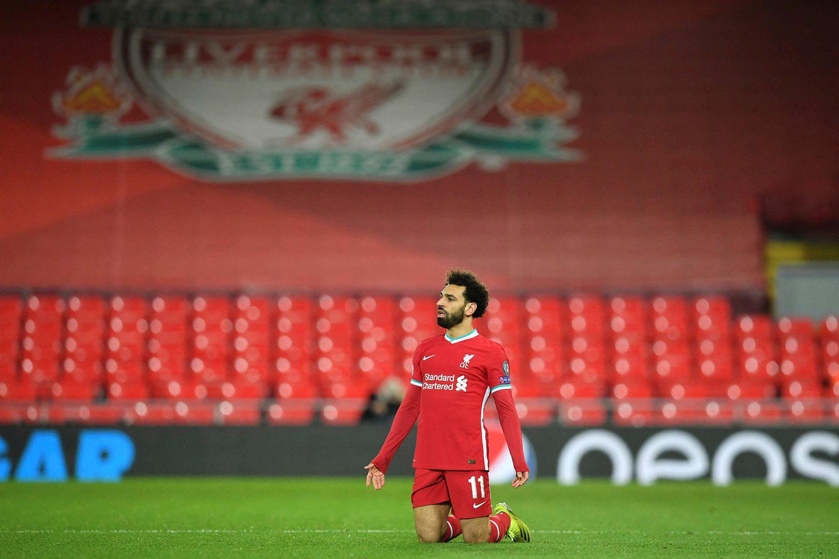 Mohamed Salah á tvö ár eftir af samningi sínum við …