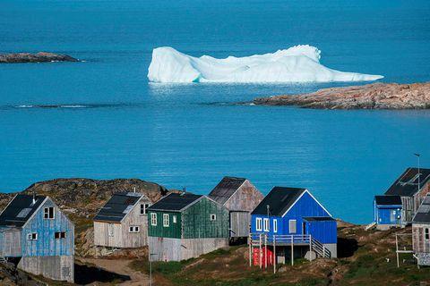 From Kulusuk, Greenland.