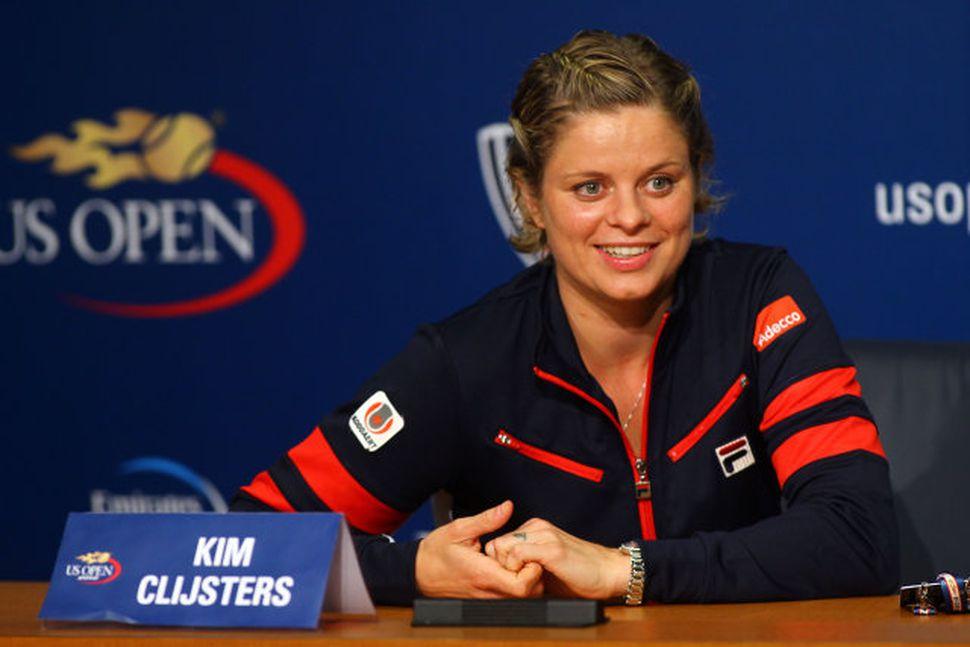 Kim Clijsters.