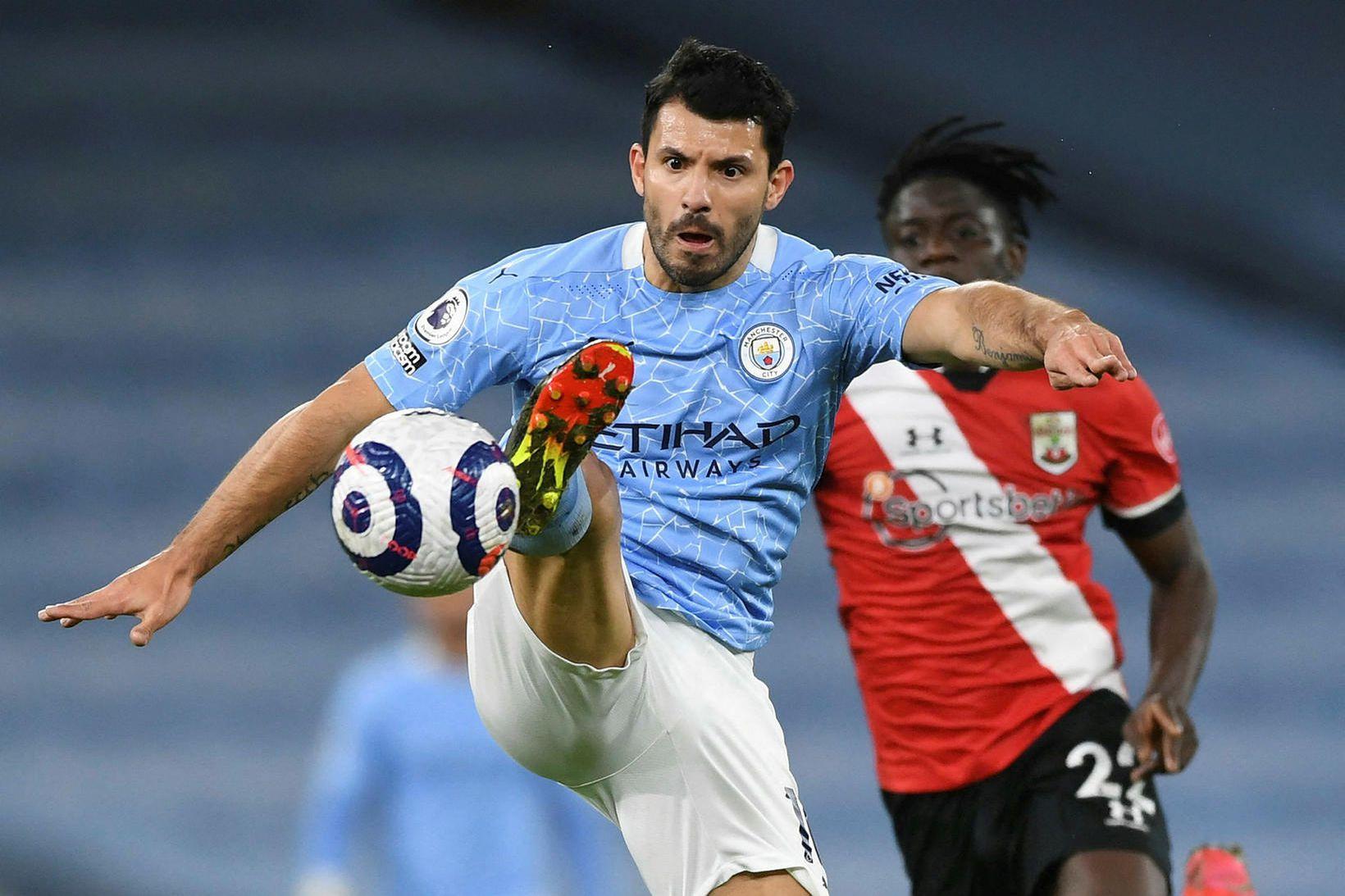 Sergio Agüero er á förum frá Manchester City.