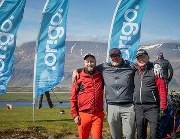 Stefán Grétarsson, Hrannar Már Hallkelsson og Jón Kristinn Jensson.