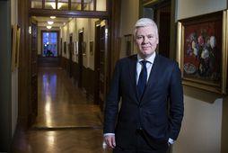 Steinþór Pálsson er hættur sem bankastjóri Landsbankans.