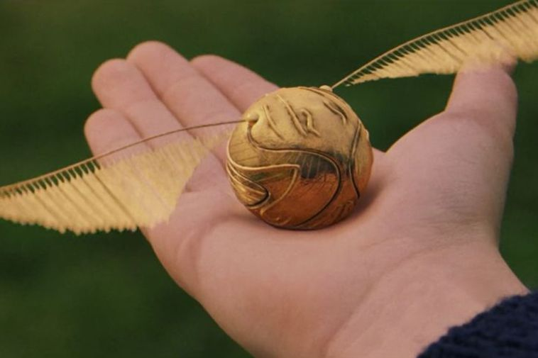 The Golden Snitch - the magical flying ball in Harry Potter. Real life quidditch uses ...