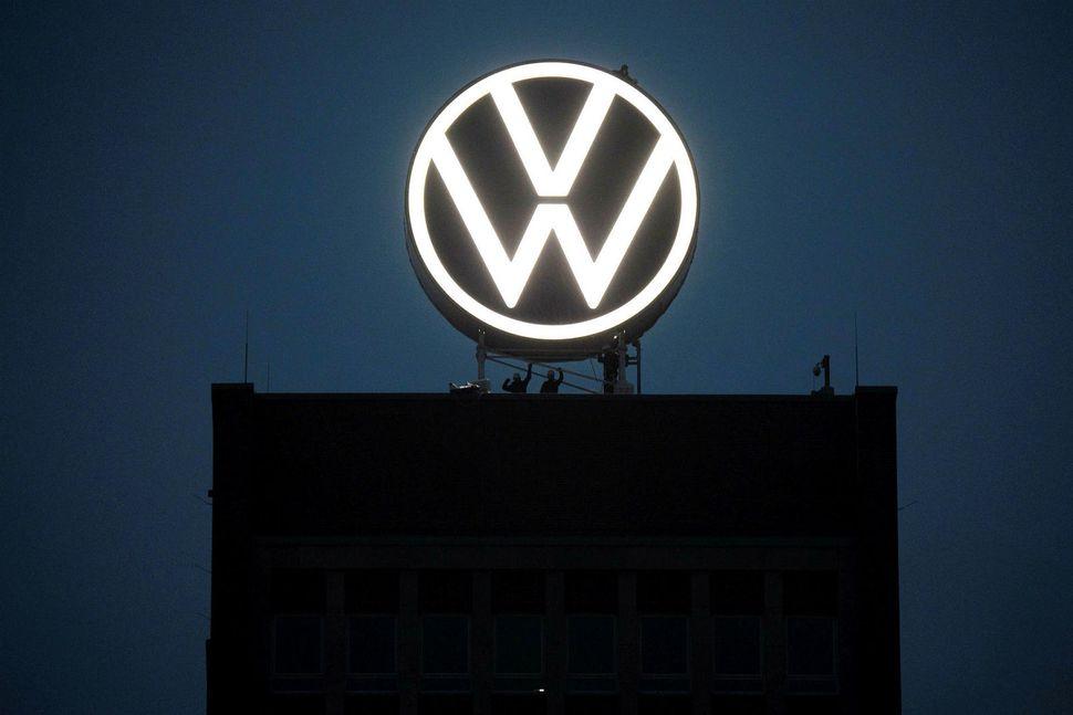 Höfuðstöðvar Volkswagen (VW) í Wolfsburg.