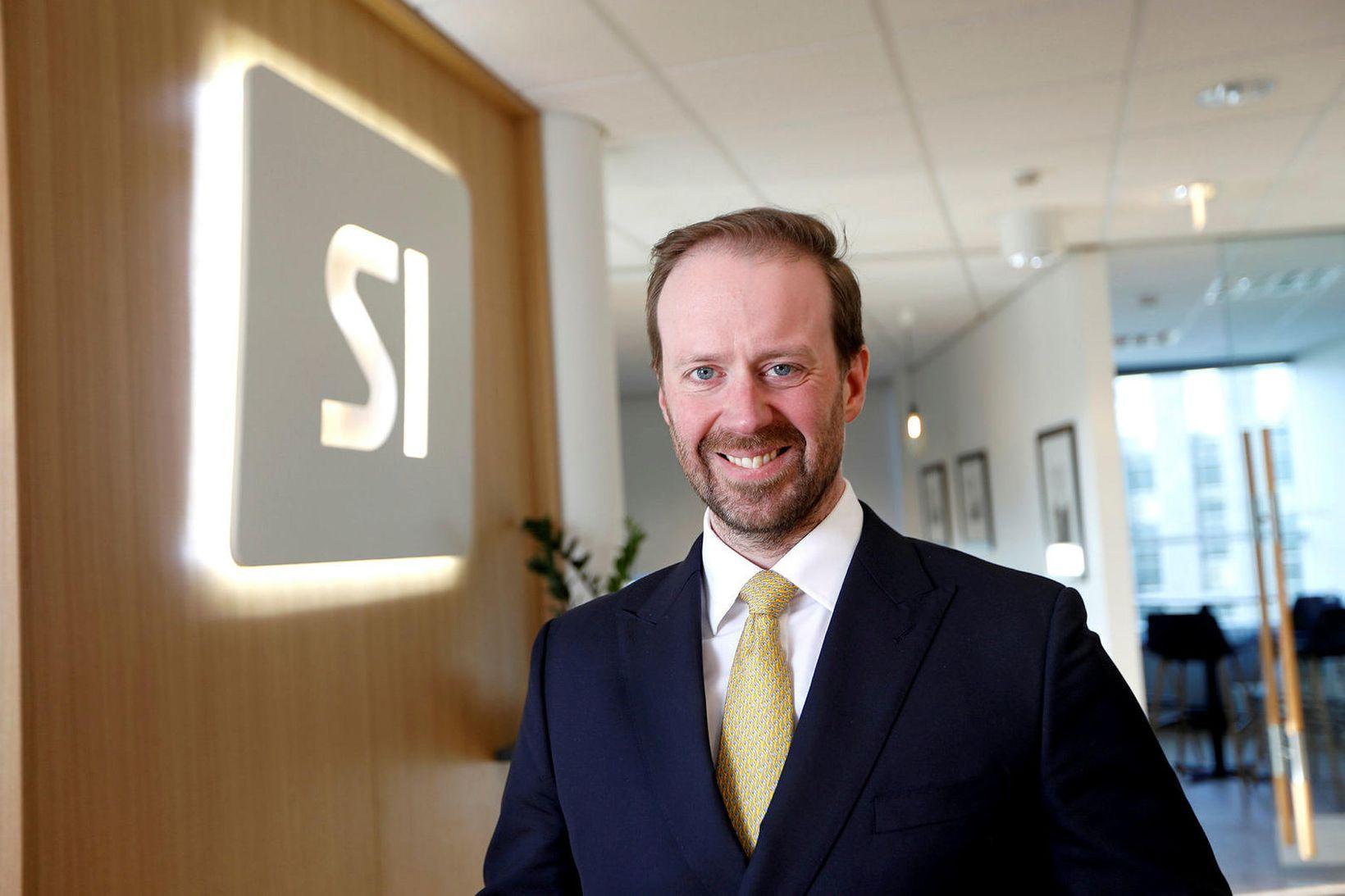 Sigurður Hannesson framkvæmdastjóri SI.