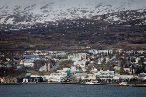 From Akureyri.