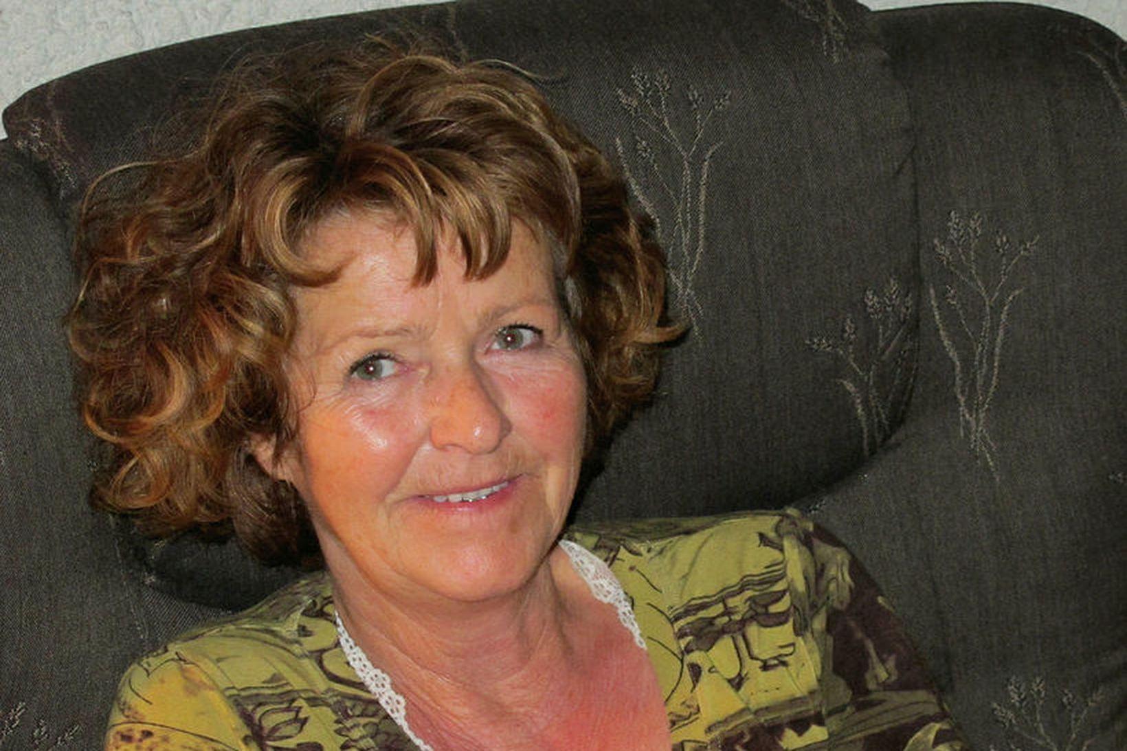 Anne-Elisabeth Hagen var rænt af heimili sínu 31. október í …
