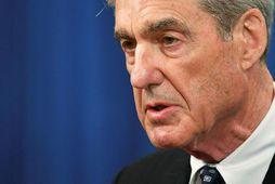 Robert Mueller, sérstakur saksóknari FBI. Dómsmálaráðuneytið segir hann aðeins eiga að tjá sig um þá …