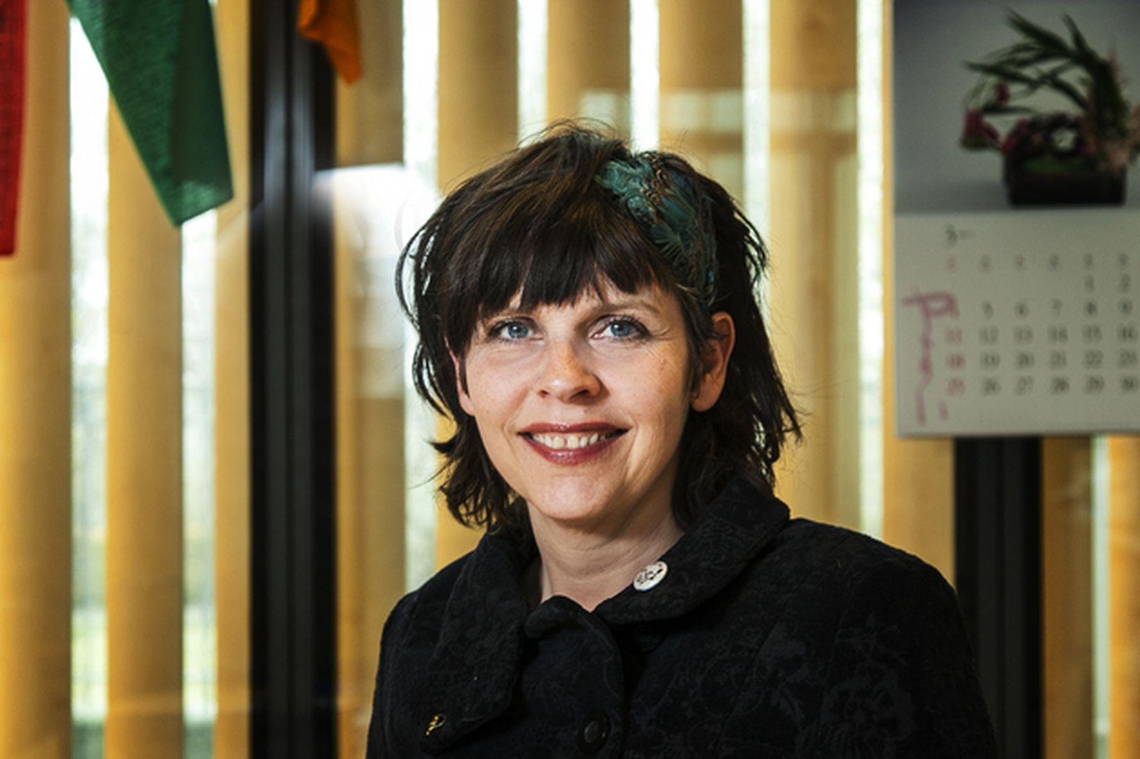 Birgitta Jónsdóttir, kafteinn Pírata.