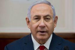 Benjamin Netanyahu, forsætisráherra Ísrael.