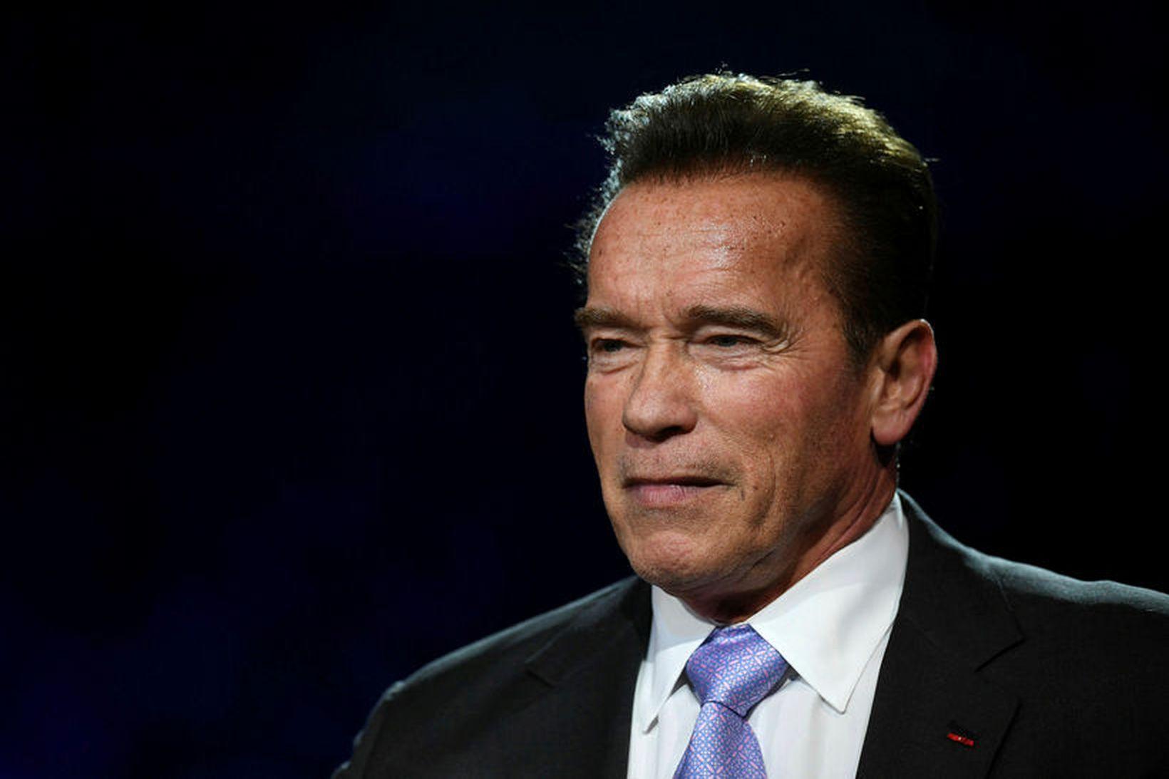 Arnold Schwarzenegger segir að tækifæri felist í uppbyggingu í kjölfar …