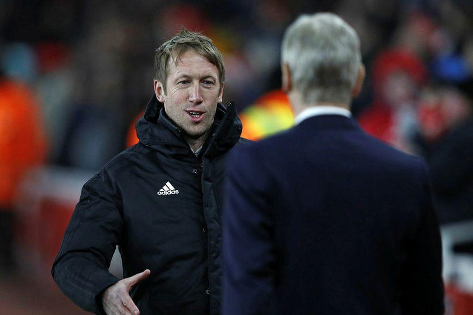 Graham Potter er að taka við B-deildarliði Swansea City.