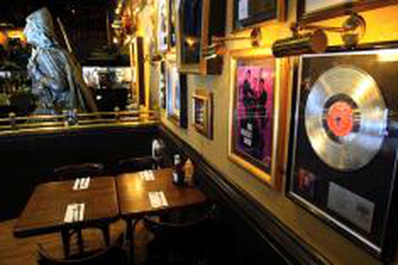 Frá Hard Rock Café í Kringlunni.