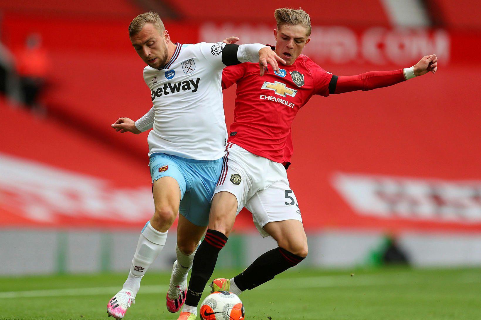 Brandon Williams átti góða fyrstu leiktíð með Manchester United.