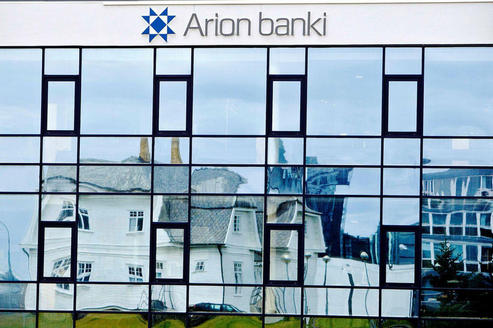 Arion banki.