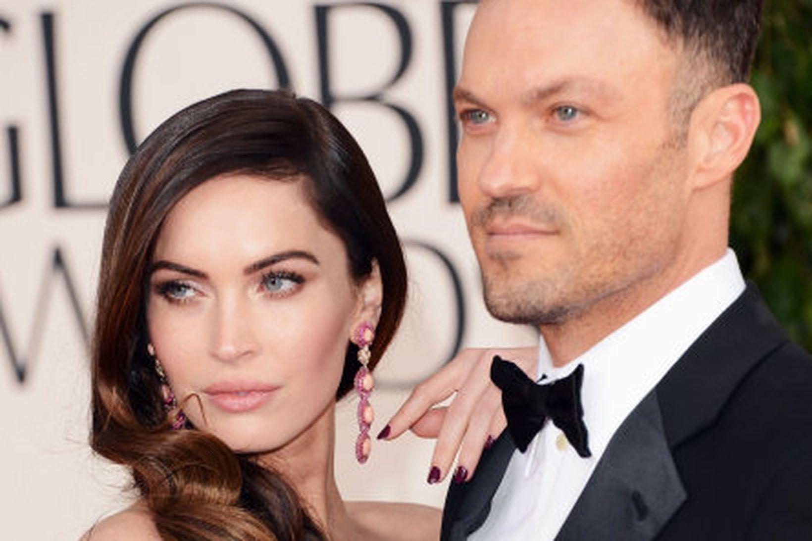 Megan Fox og Brian Austin Green eiga þrjá drengi saman.