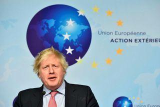Utanríkisráðherra Bretlands, Boris Johnson, ræddi kjarnorkusamning við Írana á fundi í Brussel í dag.