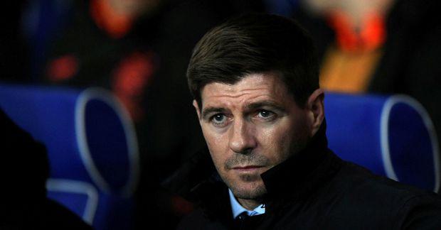 Steven Gerrard er knattspyrnustjóri Rangers í Skotlandi.