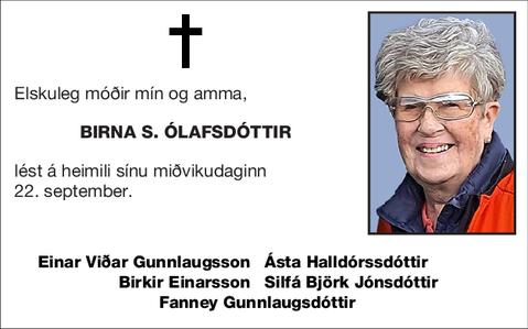 Birna S. Ólafsdóttir