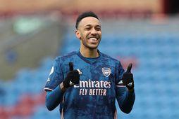 Pierre-Emerick Aubameyang, fyrirliði Arsenal.