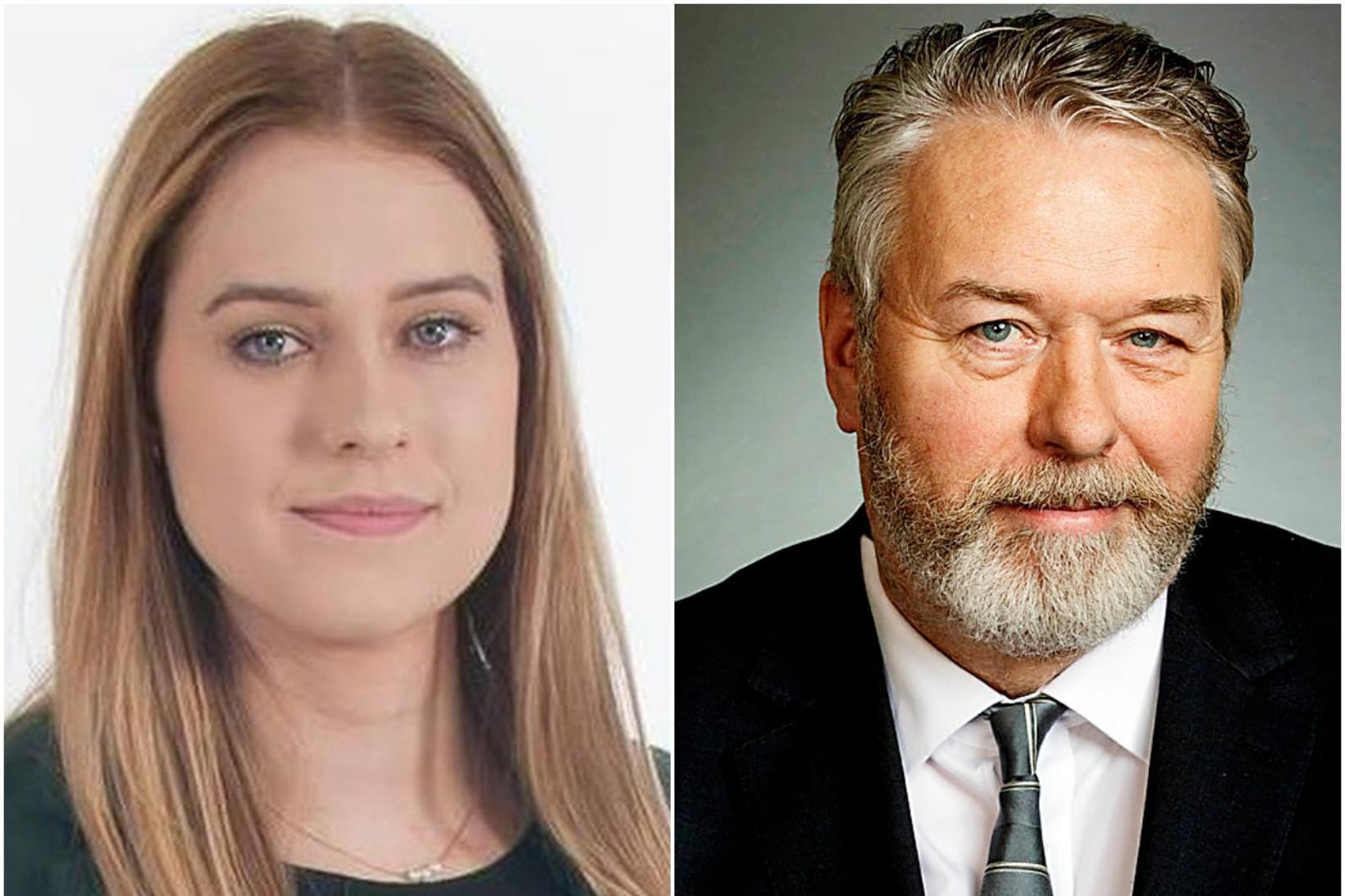 Fjóla Hrund Björnsdóttir og Þorsteinn Sæmundsson.