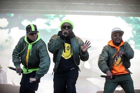 Black Eyed Peas ætluðu aldrei að hætta að spila í gærkvöldi, segir Jón Bjarni.