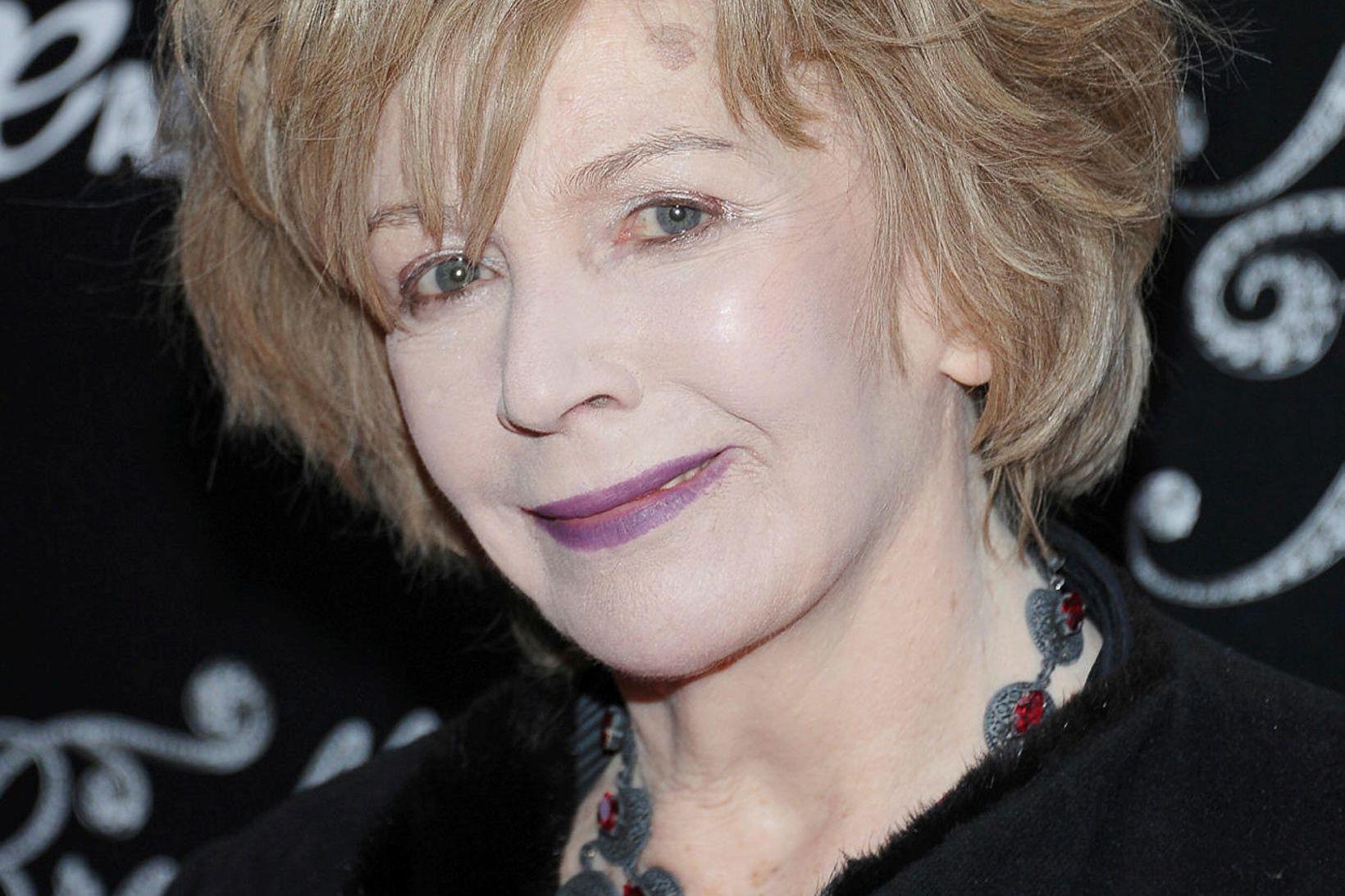 Írski rithöfundurinn Edna O'Brien verður níræð í desember.