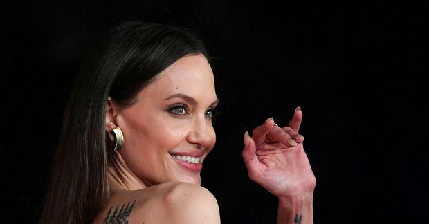 Angelina Jolie var í London í vikunni.