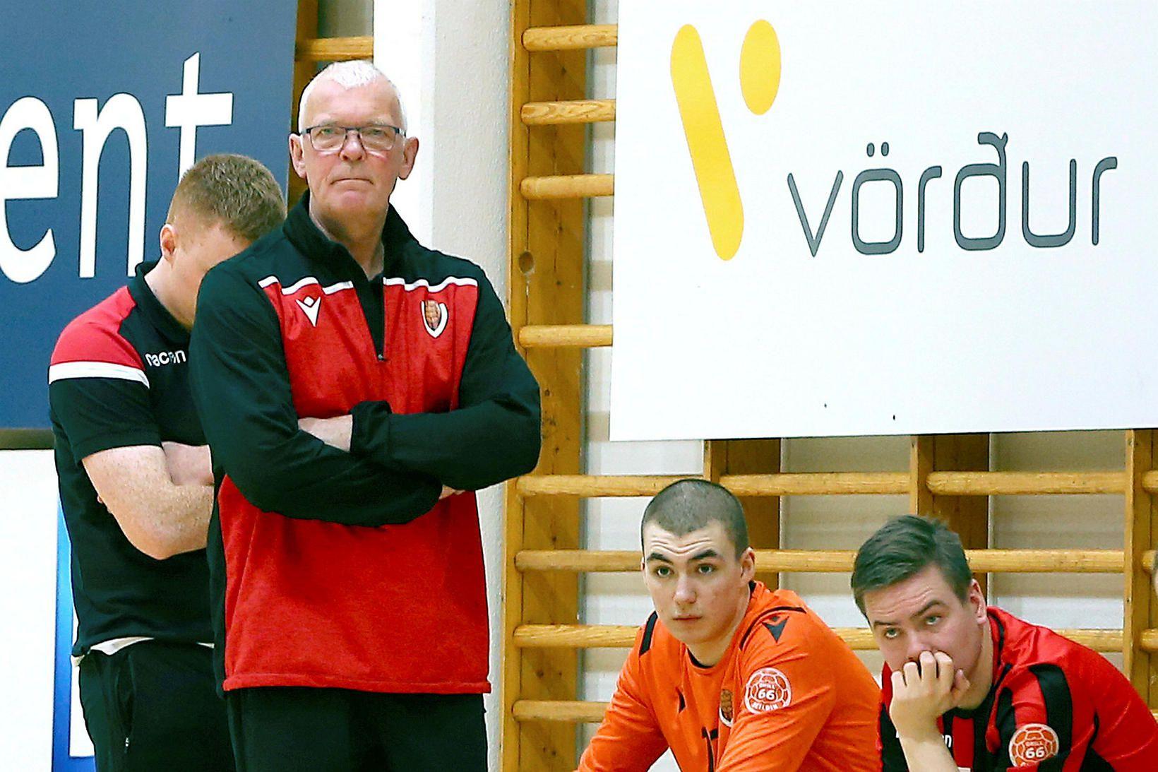 Gunnar Gunnarsson, þjálfari Víkings.