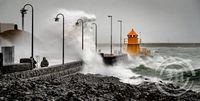 Óveður í Reykjavík 14. 2 2020