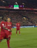 Þrumufleygur kom Liverpool yfir gegn City (myndskeið)