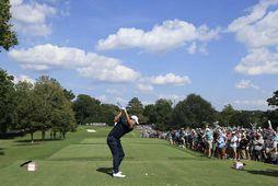 Patrick Cantlay er sigurvegari PGA-mótaraðarinnar í golfi.