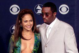 Jennifer Lopez og Diddy voru saman árin 1999 til 2001.
