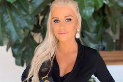 Guðrún Sigurbjörnsdóttir tók þátt í Miss Global í Mexíkó.