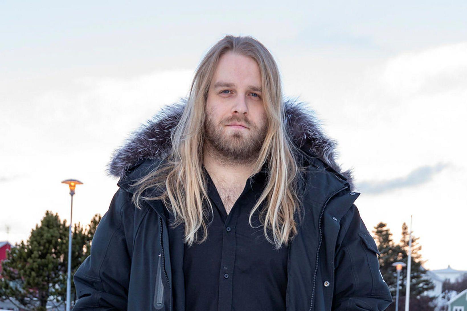 Eyþór Ingi Gunnlaugsson eignaðist dóttur með eiginkonu sinni.