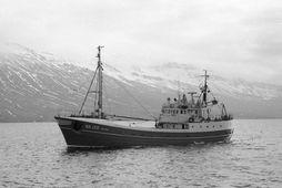 Fyrsti Barði var smíðaður í Austur-Þýskalandi árið 1964.