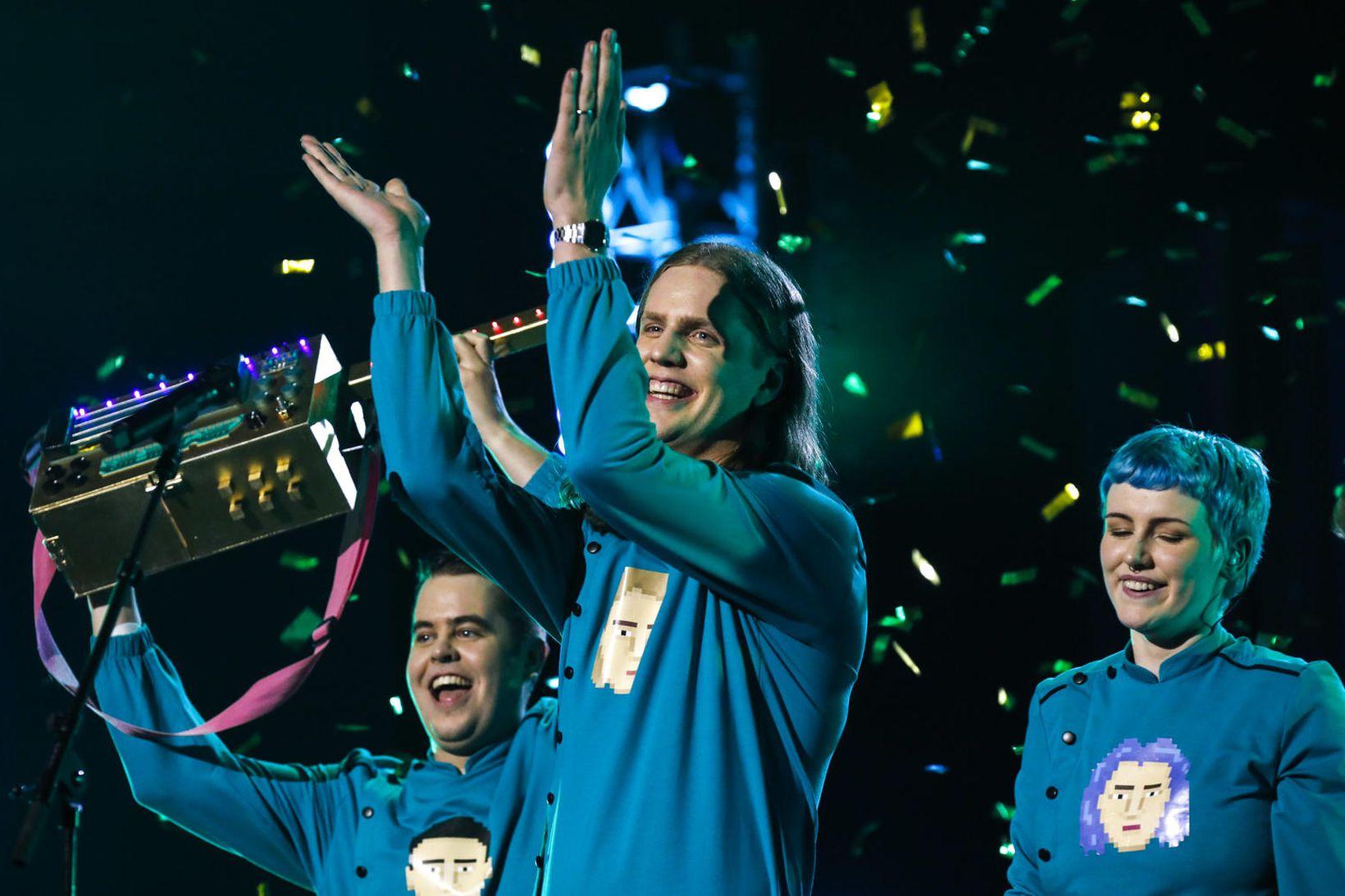 Daði og Gagnamagnið verða framlag Íslands í Eurovision í ár …
