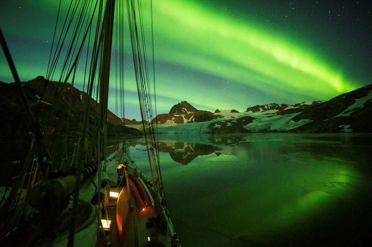The Northern Lights can pose danger if one only looks up towards the night sky.