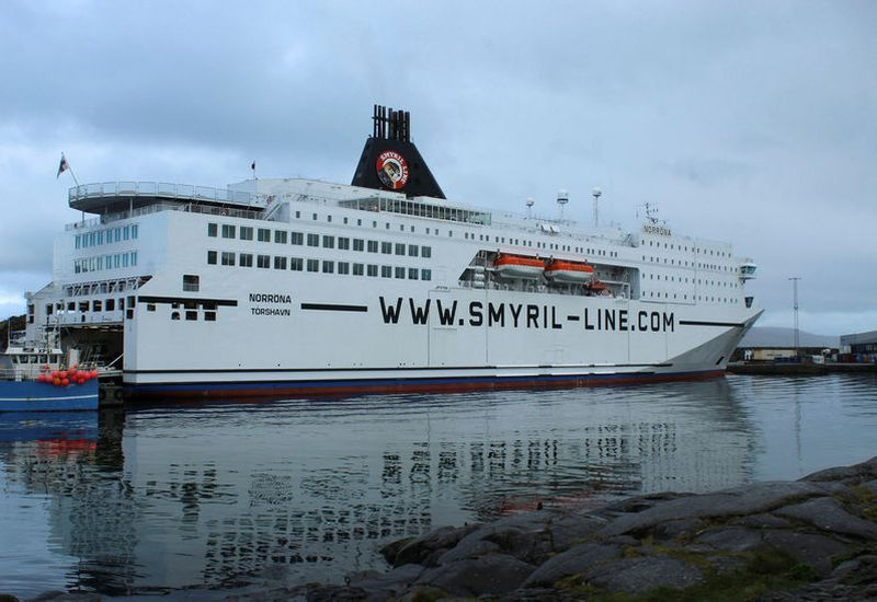 The men were arrested as they arrived in Seyðisfjörður, the East Fjords, last summer.
