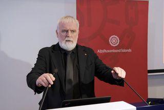 Gylfi Arnbjörnsson, forseti ASÍ.