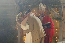 Salka Sól og Arnar Freyr giftu sig í dag.