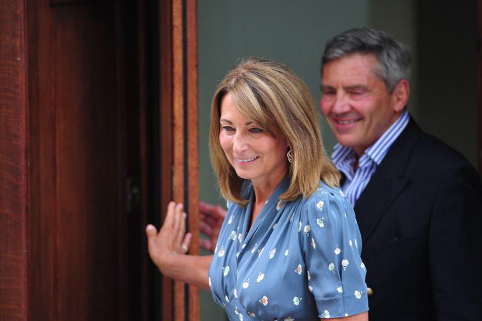 Carole og Michael Middleton.