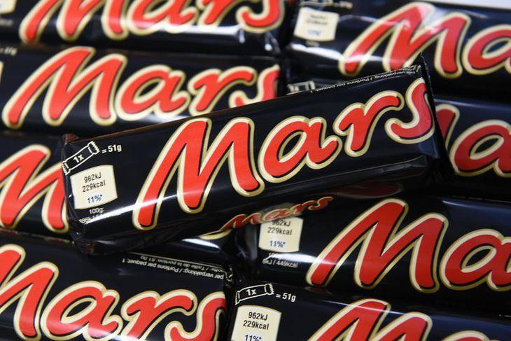 Hér á landi hafa aðeins verið innkallaðar Mars súkkulaðistangir.
