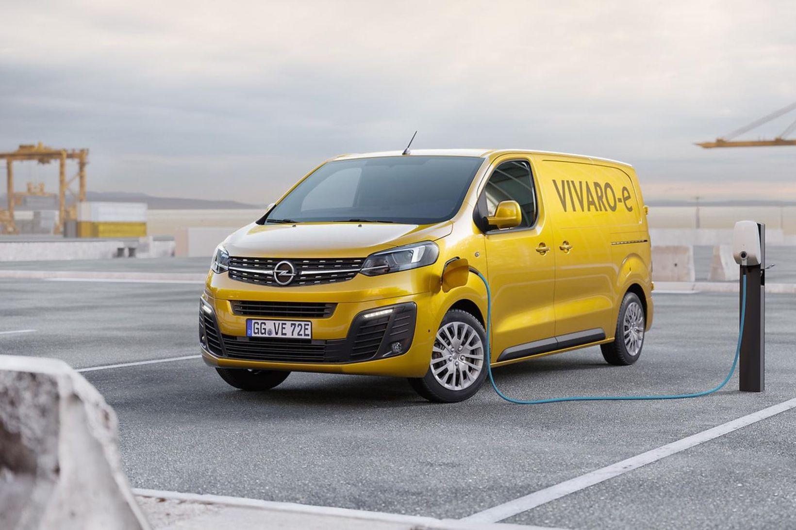 Opel Vivaro–e sendibíll ársins hjá bílaritinu WhatCar.