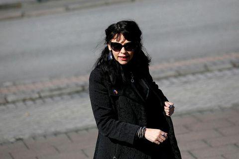 Birgitta Jónsdóttirr, captain of Iceland's Pirate Party