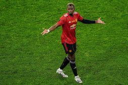 Paul Pogba var dýrasti knattspyrnumaður heims þegar United keypti hann af Juventus sumarið 2016.