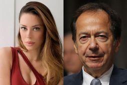 Alina de Armas og John Paulson eru nýtt par.