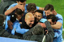 Pep Guardiola og lærisveinar hans í Manchester City verða ekki með í fyrirhugaðri ofurdeild.