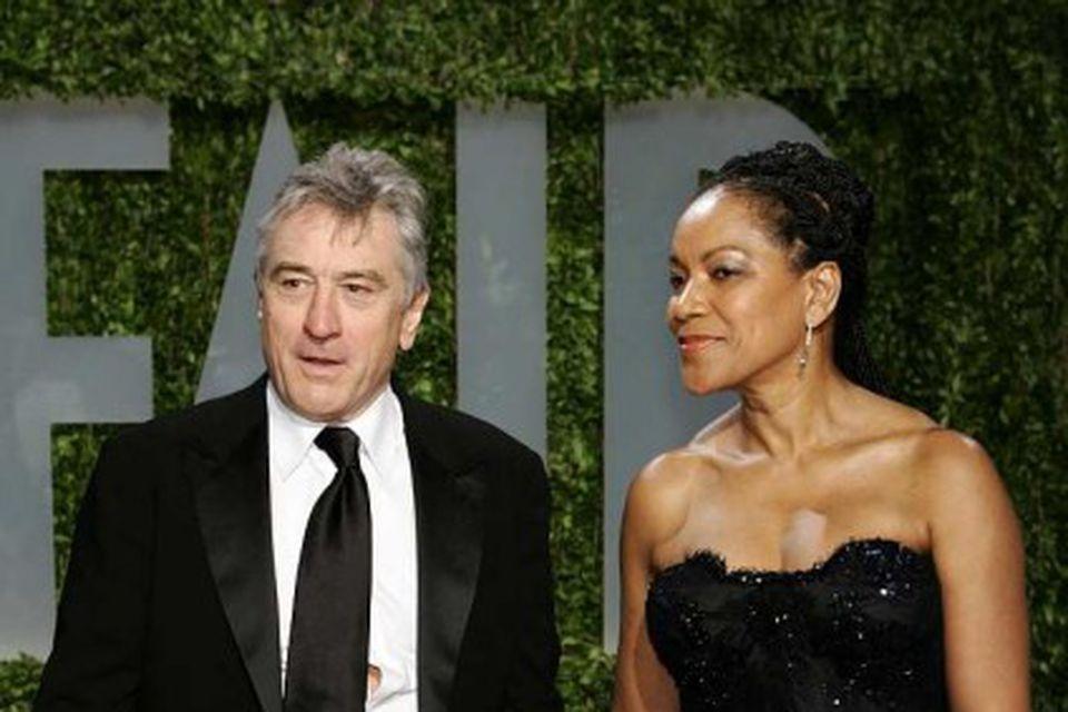 Hjónin Robert De Niro og Grace Hightower.